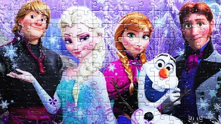 Disney Puzzle Game FROZEN Rompecabezas De Ravensburger Play Kids Learning Toys quebra-cabeças yapboz