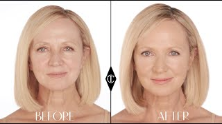 Foundation for Mature Skin: Charlotte Tilbury Magic Foundation Makeup Tutorials