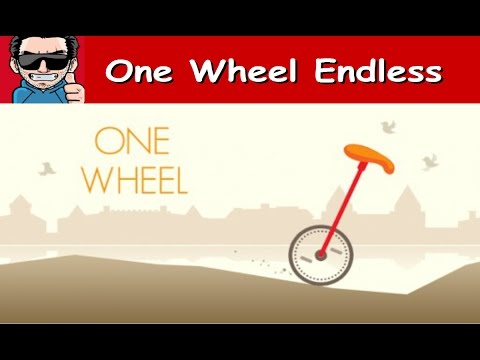One Wheel Endless- Android - [HD] Gameplay