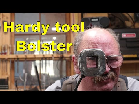 Forging A Hardy Tool Bolster From Extra Heavy Tubing