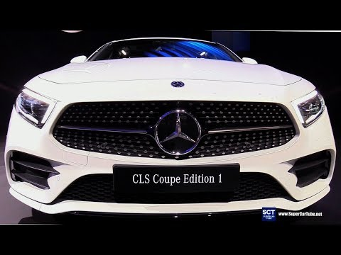 2019 Mercedes CLS Class CLS Coupe - Exterior Interior Walkaround - Debut at  LA Auto Show