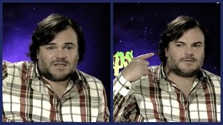 This i s how tired Jack Black is of being funny all the time - and being a strict dad