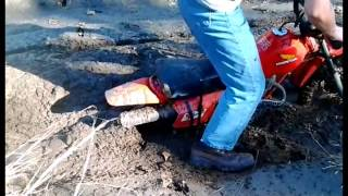 Dirt Bike Mudding Fail