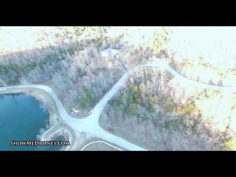 Drone video near Springfield Missouri at Woods Fork Ridge
