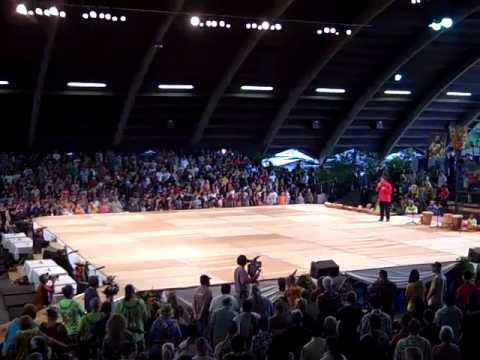 Merrie Monarch Festival 2011 Hilo, HI Kahu Wendell Davis Prayer
