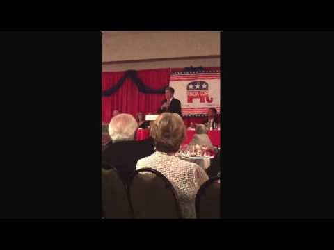 Sen. Roy Blunt of Missouri the 2017 Knox County TN Republican Party's Lincoln Day Dinner 4/21/2017