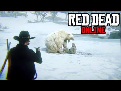 A BEAR Tried To Steal My Legendary Bounty! Red Dead Online Bounty Hunter