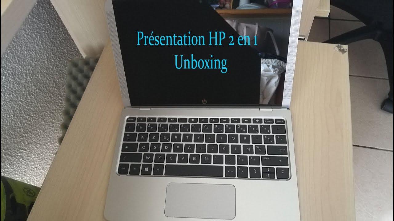 547039bb339 Unboxing HP PC 2 en 1 - 10p021nf - 10.1