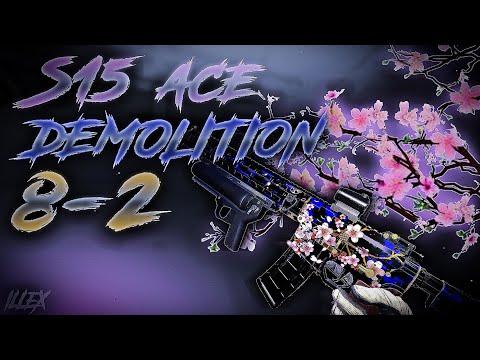 BLACK SQUAD   DEMOLITION   S15 ACE   8-2