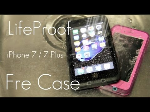 premium selection e0635 70e72 Slim WATERPROOF Protection! - LifeProof Fre Case - iPhone 7 / 7 PLUS -  Review & Demo