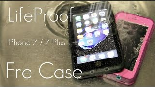 Slim WATERPROOF Protection! - LifeProof Fre Case - iPhone 7 / 7 PLUS - Review & Demo