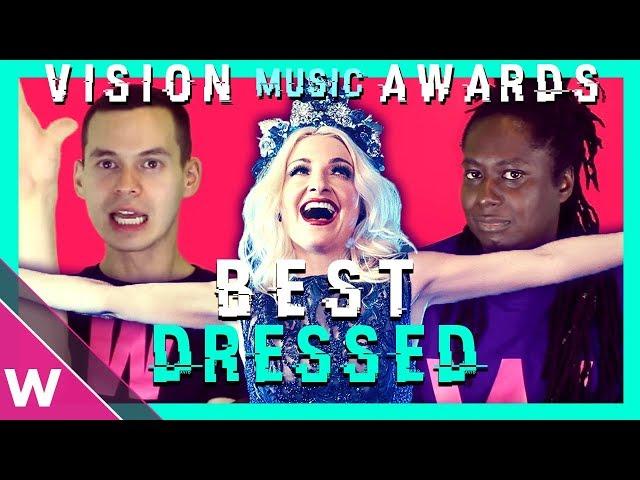 Australia's Kate Miller-Heidke wins Best Dressed of Eurovision 2019 | VMAs