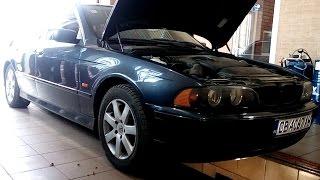 Замена масла в  BMW 530d E39