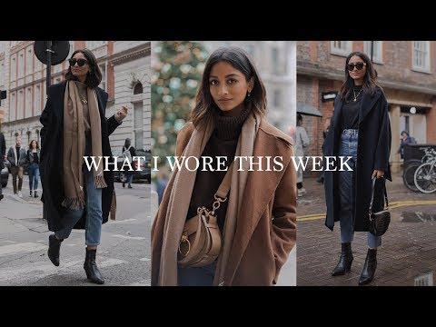 WHAT I WORE & DID THIS WEEK | LOOKBOOK & VLOG