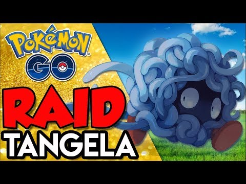 SOLANDO RAID DE TANGELA  - Pokémon Go   Derrotando Raid Boss Parte thumbnail