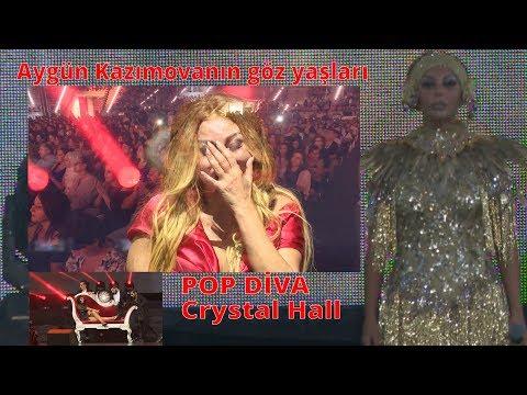 Aygun Kazimova 30 il konsertinde hem goz yasi tokdu, hemde sehnede firtina qopartdi Divanin tarixi s