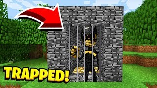 Minecraft : We TRAPPED INK BENDY! (Ps3/Xbox360/PS4/XboxOne/PE/MCPE)