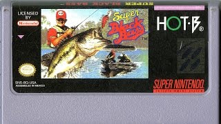 CGR Undertow - SUPER BLACK BASS review for Super Nintendo