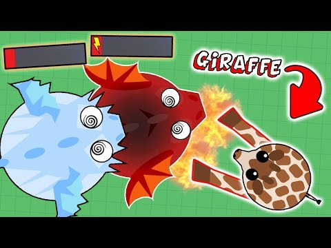 MOPE.IO NEW ANIMAL GIRAFFE DESTROYING ALL ANIMALS! UPCOMING ANIMAL UPDATE! (Mope.io Funny Moments)
