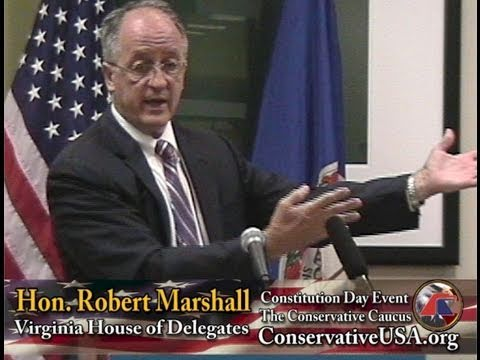 Constitution Day with Virginia Delegate Bob Marshall - The Conservative Caucus