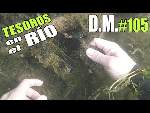 Buscando TESOROS en el RÍO encuentro ¡ALGO INCREIBLE! river treasures - Detección Metálica ep. 105