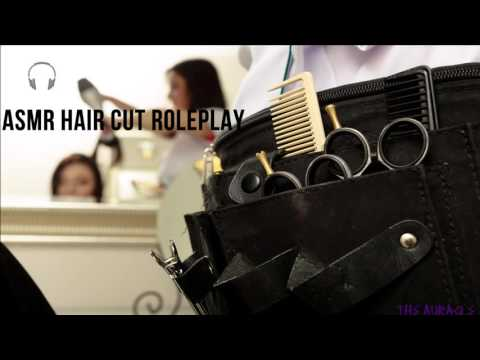 [ASMR] Haircut ★ Roleplay ★ [Personal Attention] [Scissors] [Spray bottle]