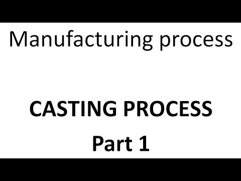 Manufacturing and Production Engineering Metal Casting Lecture 1: Introduction, classification