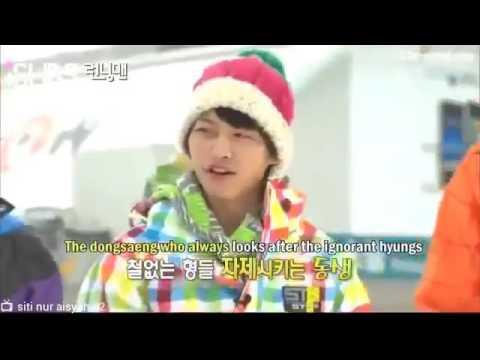 Running man funny kim jongkook haha gary lee kwangsoo song joongki