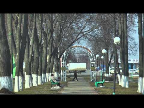 Губкин, весна на улице Скворцова