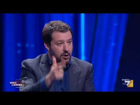 Matteo Salvini da Giletti \
