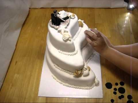 Paisley Mehndi Cake : Paisley wedding cake youtube
