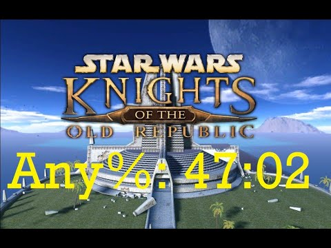 Knights of the Old Republic Any% Speedrun - 47:02 [World Record]