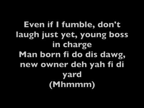 Alkaline- Fast (Lyrics and instrumental only)