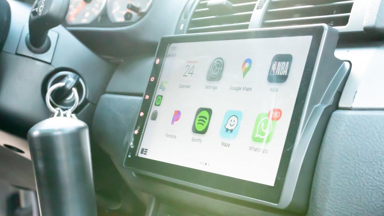 Apple CarPlay + Netflix in an E46 BMW (Eonon GA9450B Review)