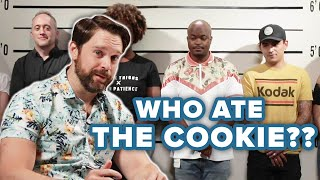 Private Investigator Guesses Who Stole The Cookie Out Of A Lineup