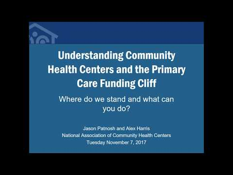11-7-2017 The Impact of the Federal Funding Cliff on Community Health Centers