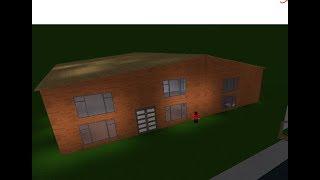 Speedbuild Modern House | Roblox Bloxburg