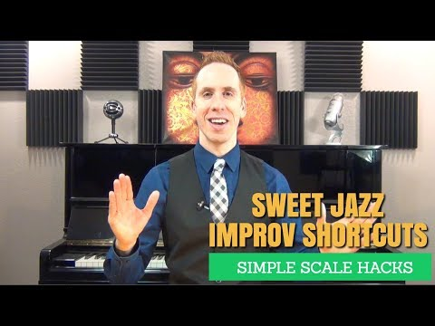 Jazz Improvisation Techniques - Simple Scale Hacks