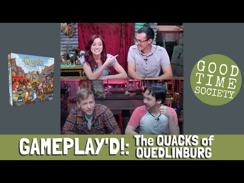GAMEPLAY'D!: The Quacks Of Quedlinburg | Scabby Rooster | Friends Play-through Tabletop Games