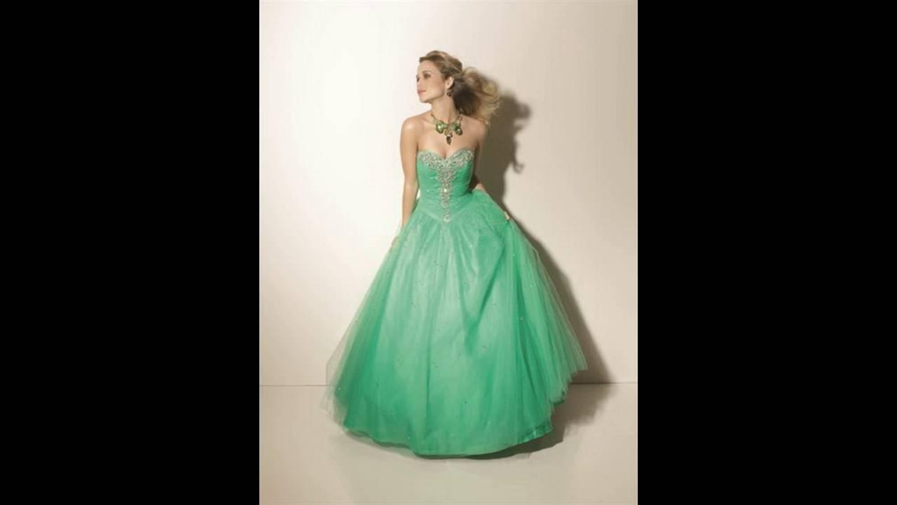 Vestidos de 15 aрів±os color verde jade