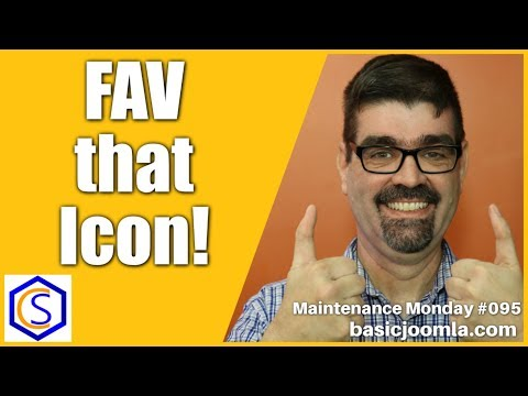 Add A Custom Favicon To Your Joomla Site 🛠 Maintenance Monday Live Stream #095