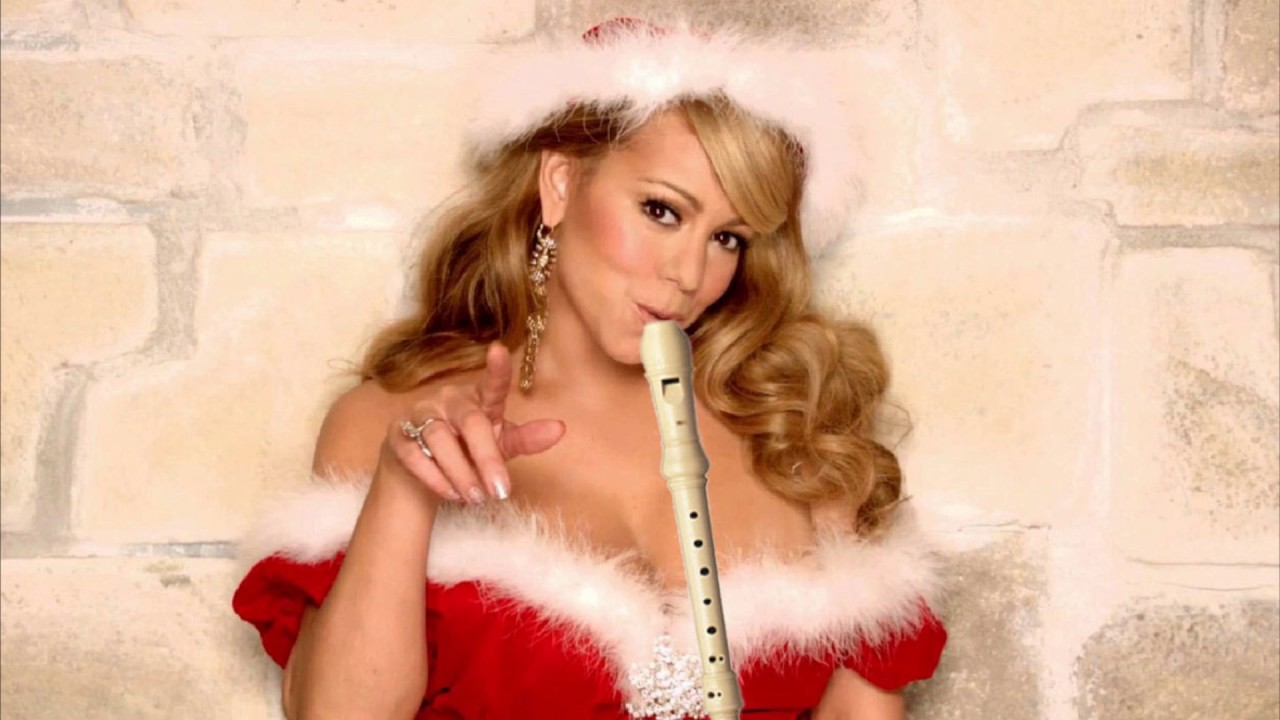 MARIAH CAREY - ALL I WANT FOR CHRISTMAS IS YOU ...