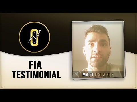 Matt Palardy Testimonial