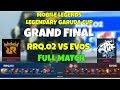 RRQ O2 Vs EVOS FULL MATCH Mobile Legends GrandFinal Garuda Legendary Cup mp3