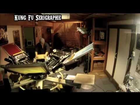 Kung Fu Sérigraphie & CalaverArts 2012 / Día de Muertos mexico-suisse
