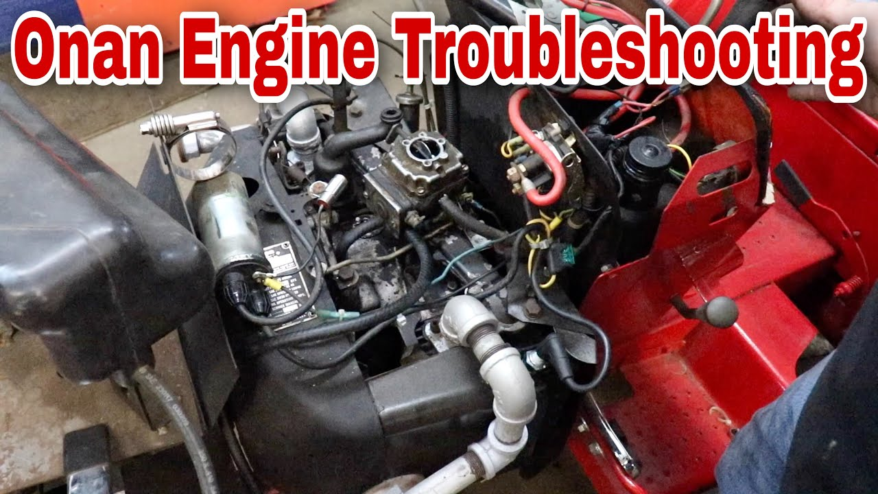 Onan Engine Troubleshooting On A Vintage Case Tractor