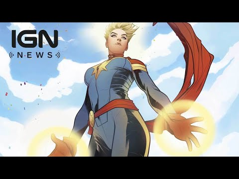 First Captain Marvel Details - IGN News