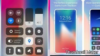 Phone X Launcher, OS 12 iLauncher & Control Center/LockScreen Phone-Notification screenshot 3