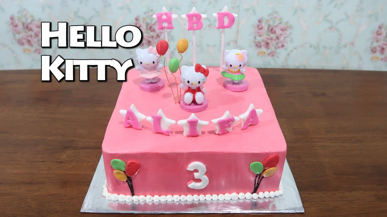 Birthday Cake For Girls Hello Kitty Cake