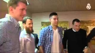 Haidar's dream has come true After losing both his parents he meet his idol Cristiano Ronaldo